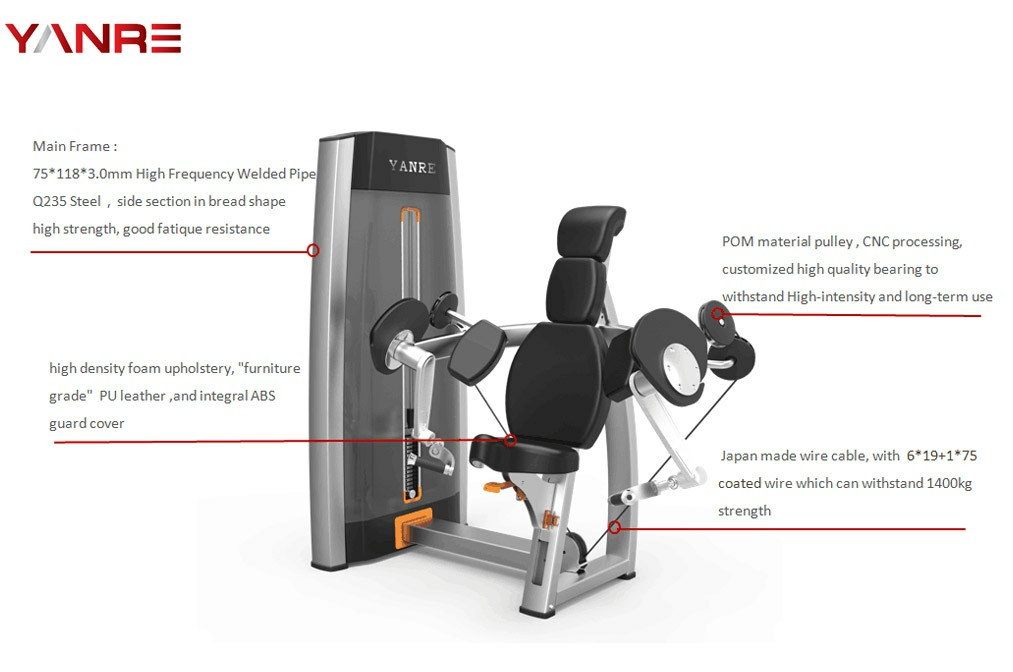 Biceps Curl Machine For Sale 9