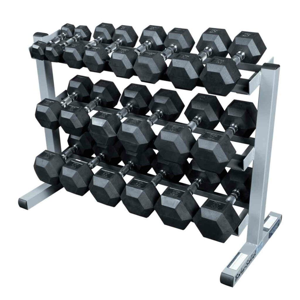 Commercial Dumbbell Rack 10
