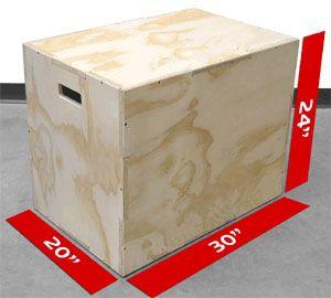 Gym Jump Box 7