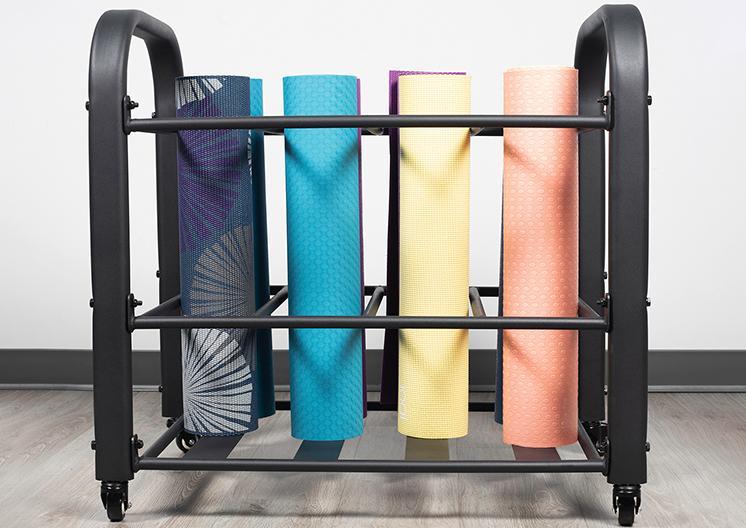 Gym Mat Rack 1