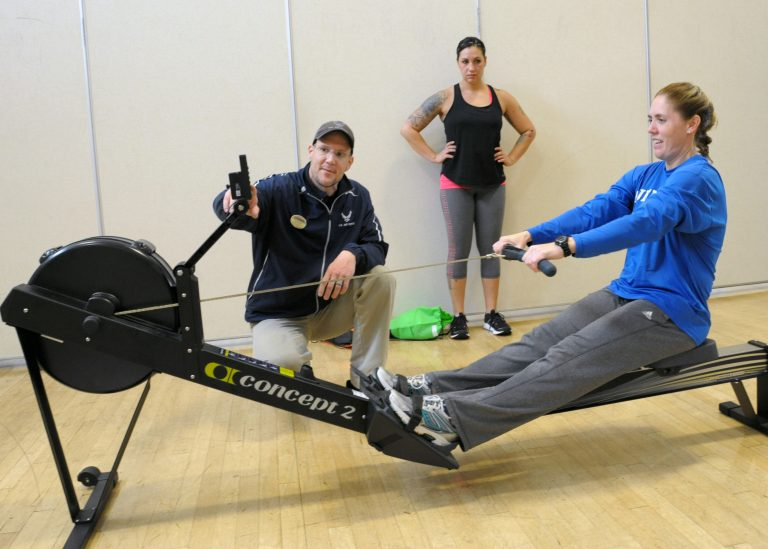 Commercial Rowing Machine 6