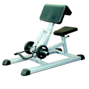 Figure 10 Loaded bicep curl machine with rubber caps 3