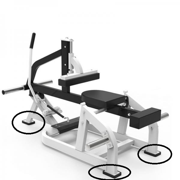 Commercial Seated Calf Raise 16
