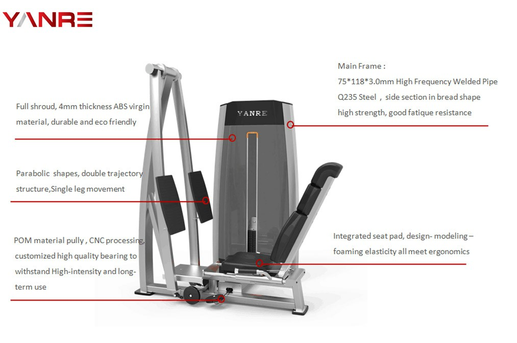 Expert's Top Ten Picks of the Best Commercial Leg Press Machine for Your Gym 13