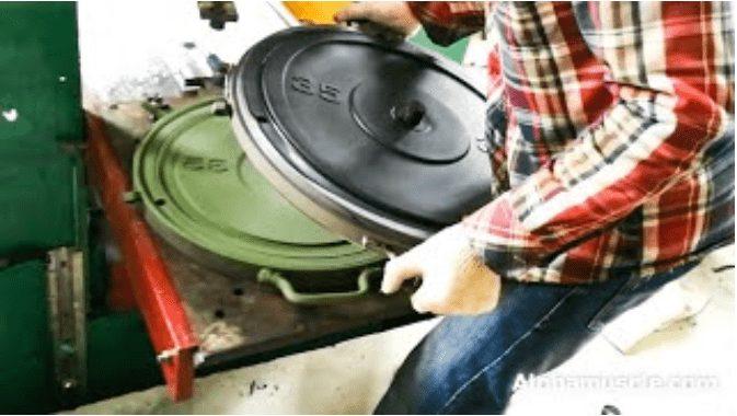 Rubber Weight Plates Manufacturer 24
