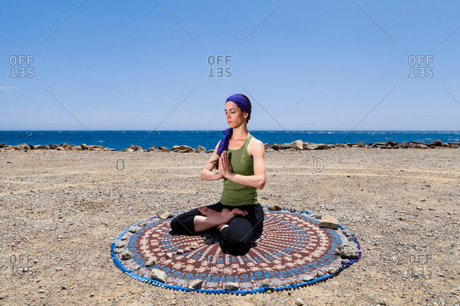 Round Yoga Mat 18