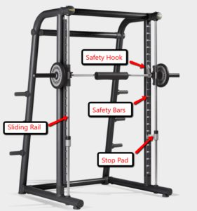 Commercial Smith Machine 12