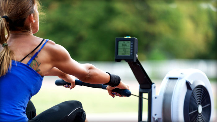 Commercial Rowing Machine 7