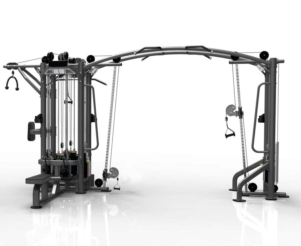5 Station Gym Equipment 1