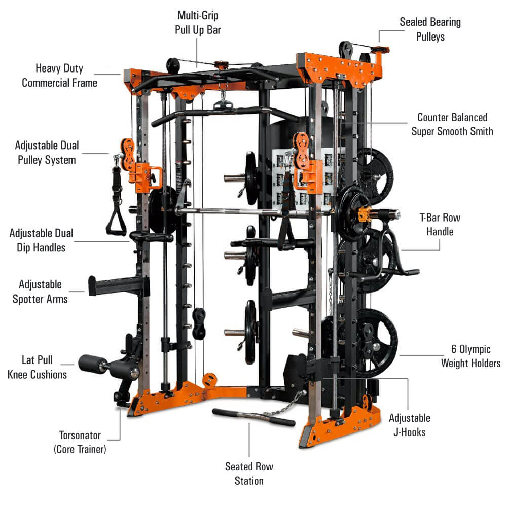 Commercial Smith Machine 14
