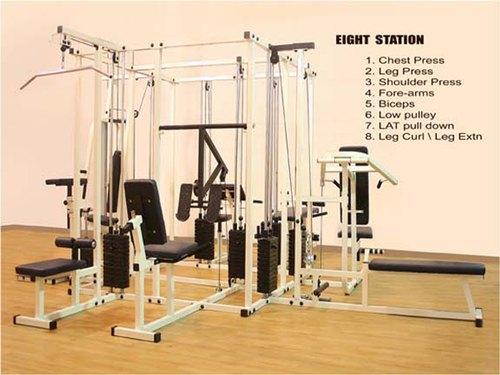 Eight Station Gym Machine 4