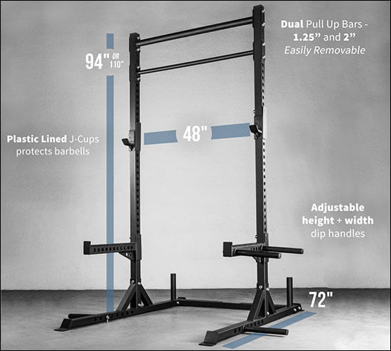 Commercial Squat Rack 9