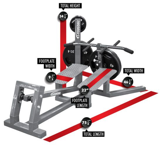 Hammer Strength T Bar Row 9