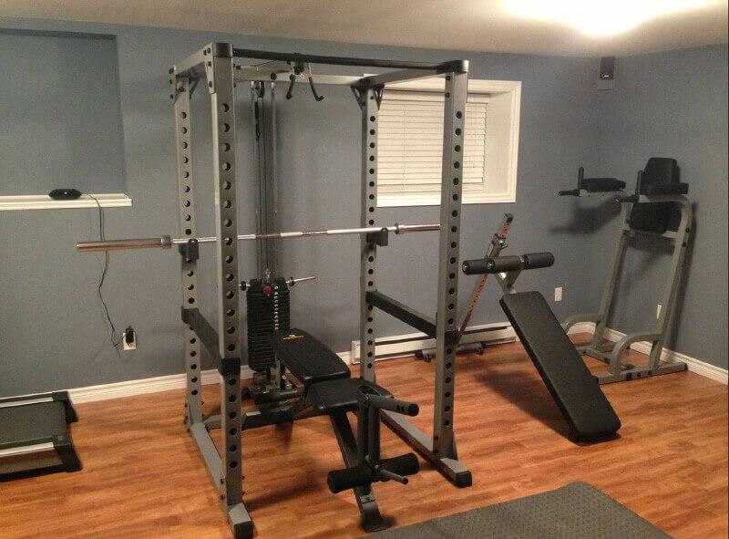 Commercial Squat Rack 13