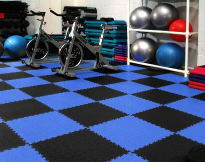 Commercial Gym Flooring Tiles 14