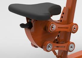 Figure 7 Seat adjustment 3