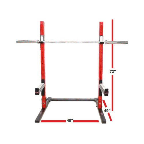 Commercial Squat Stand 12