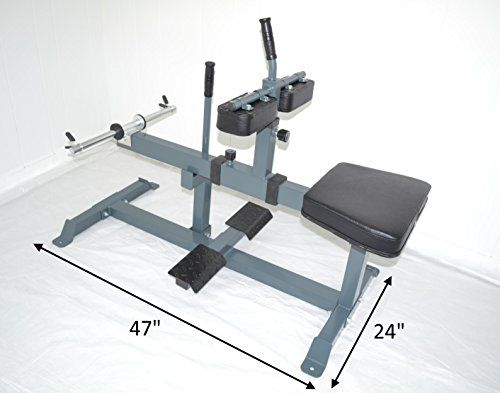 Commercial Seated Calf Raise 13