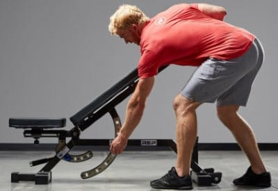 Commercial Adjustable Weight Bench 17