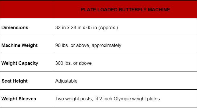 Butterfly Exercise Machine 14
