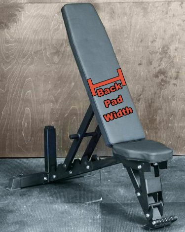 Commercial Adjustable Weight Bench 13