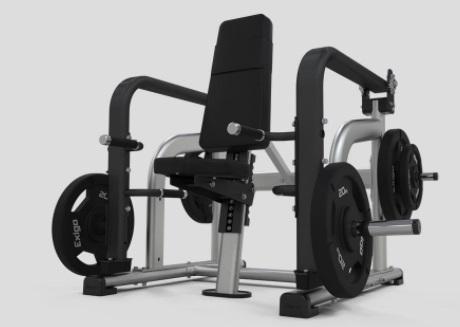 Seated Shrug Machine 7