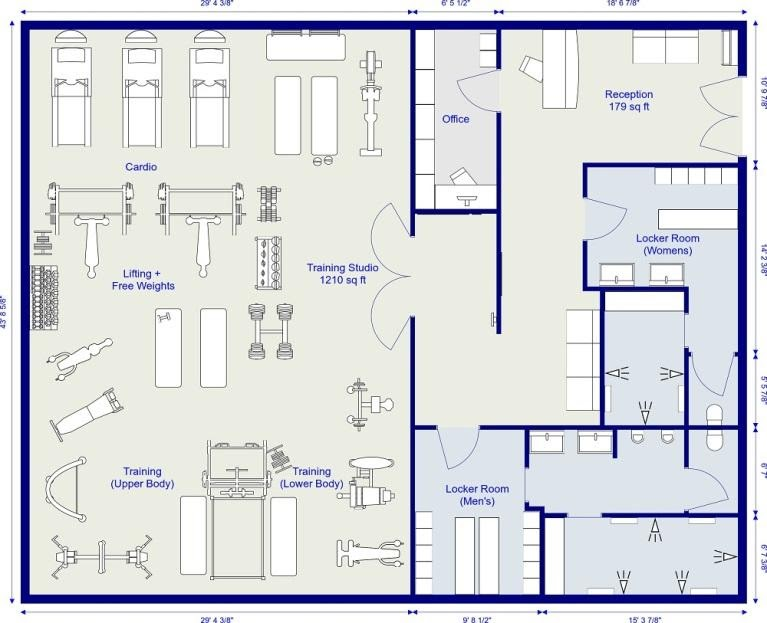 Ultimate Guide to Commercial Gym Floor Plan 2