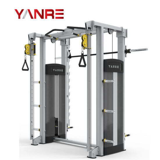 Smith Machine with Cable Crossover 11