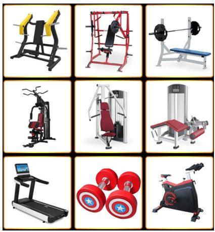 Heavy Duty Gym Equipment 23