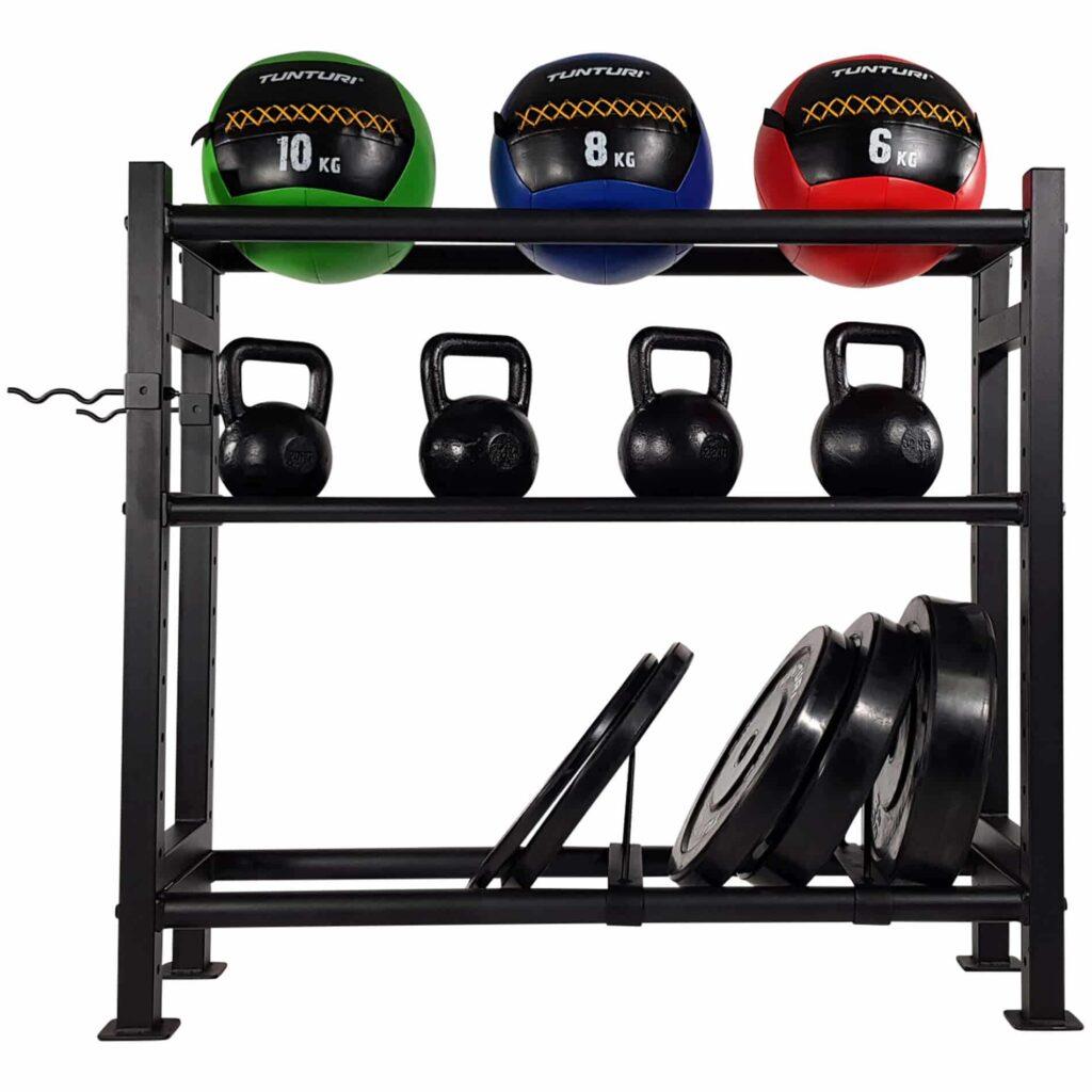 Gym Accessory Storage Rack 24