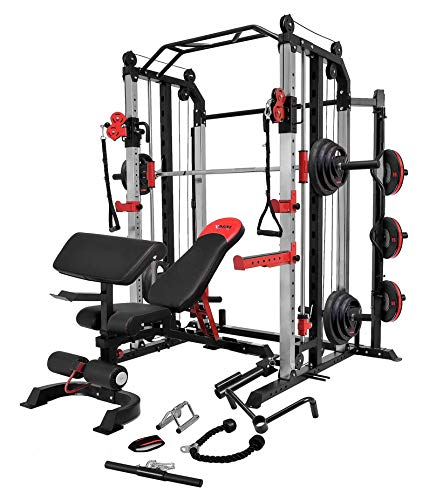 Smith Machine with Cable Crossover 22