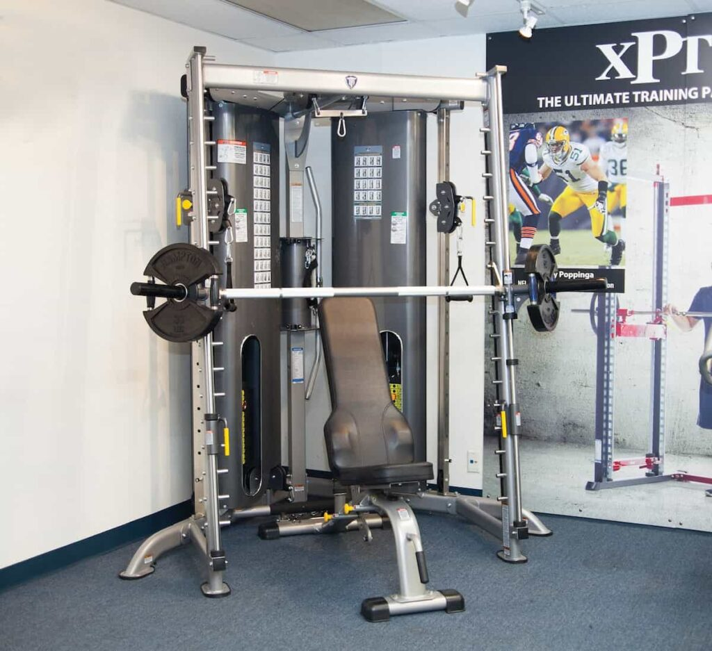 Smith Machine with Cable Crossover 23