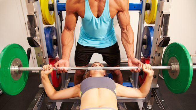 Commercial Bench Press Rack 16
