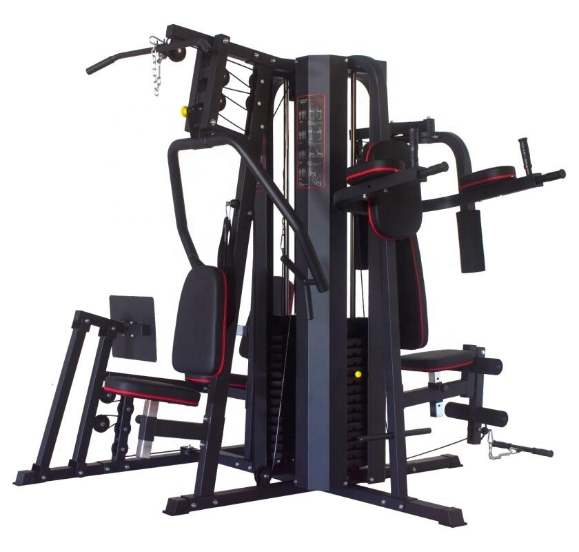 5 Station Gym Equipment 11