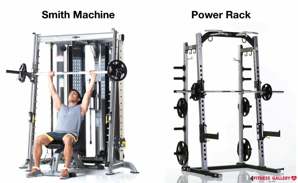 Smith Machine with Cable Crossover 12