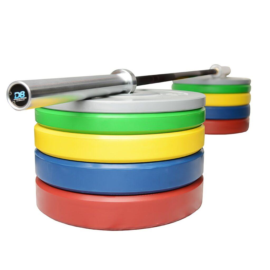 Coloured Barbell Set 3