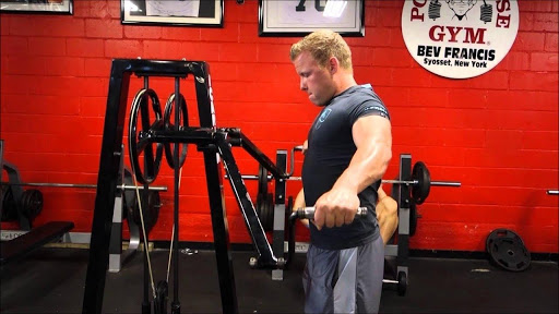 Standing Lateral Raise Machine 9