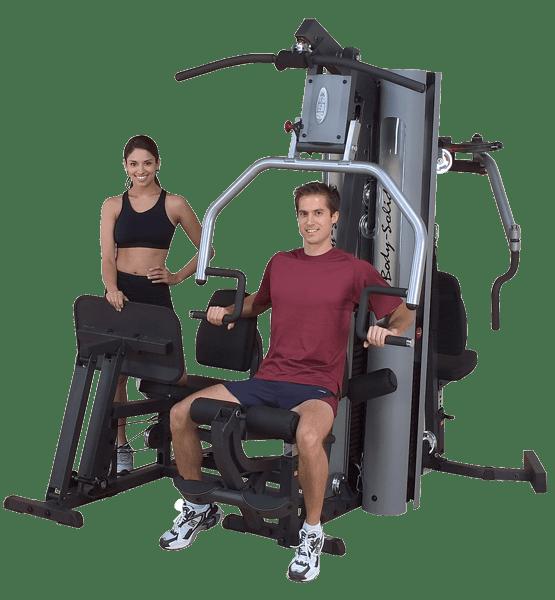 5 Station Gym Equipment 14
