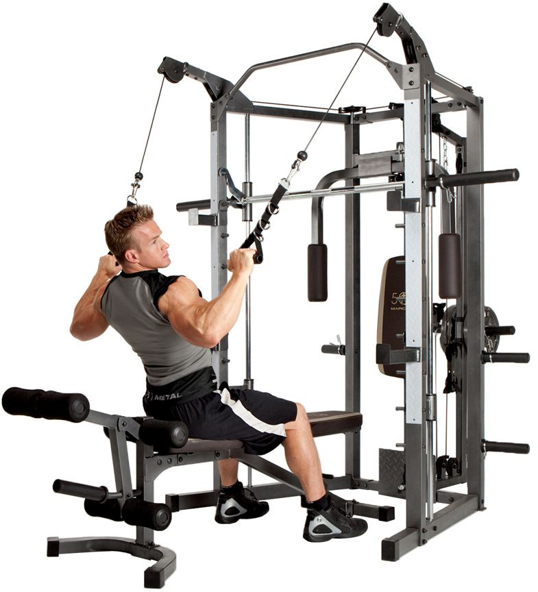 Smith Machine with Cable Crossover 15