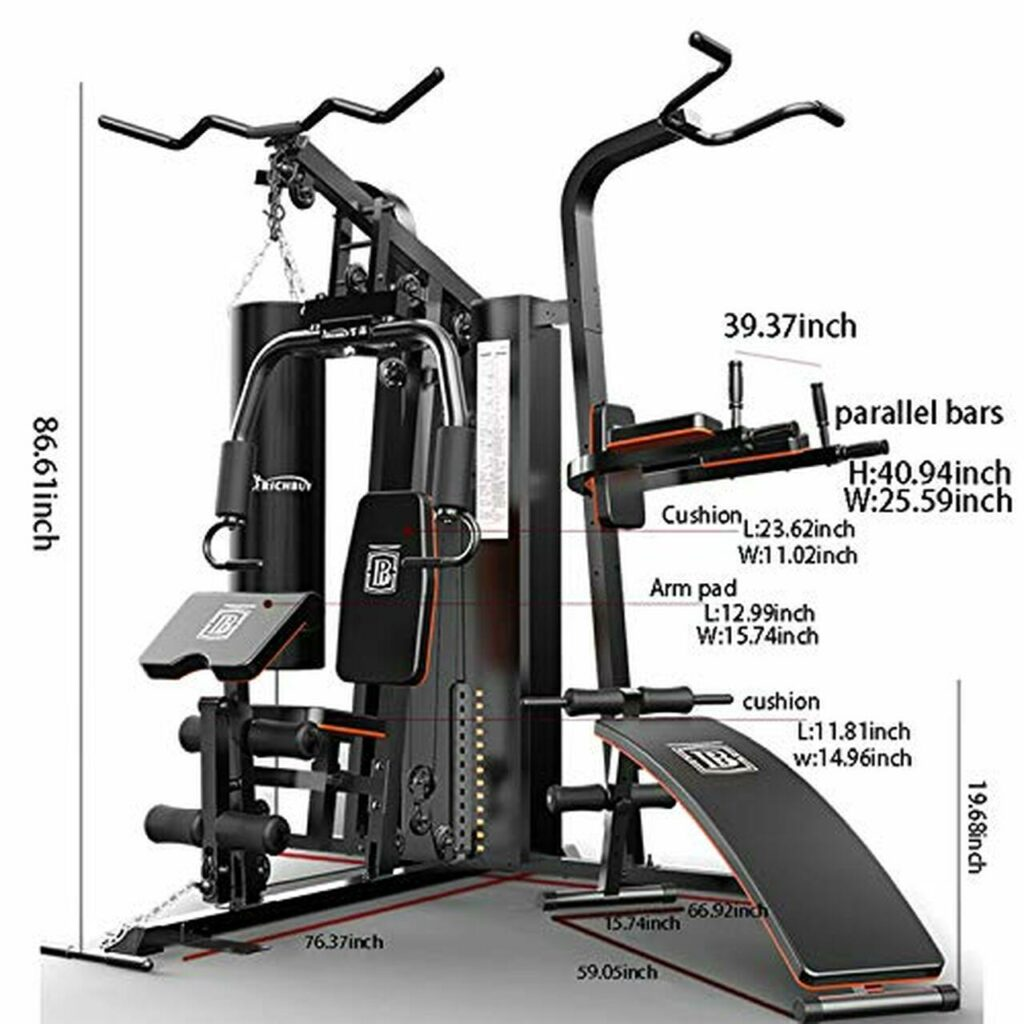Commercial Multi-Station Gym Equipment 15