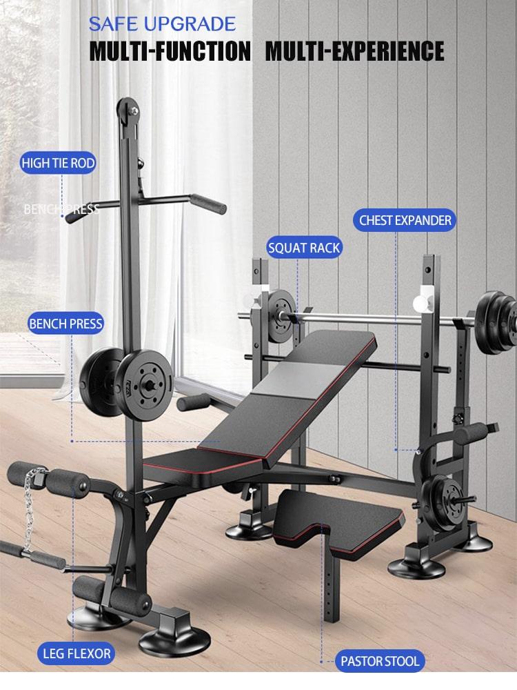 Hydraulic Bench Press Machine 12