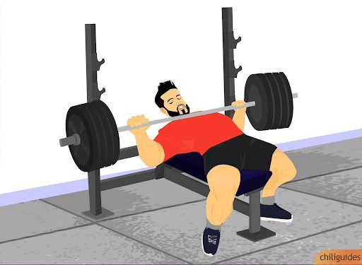 Commercial Bench Press Rack 12