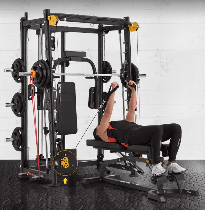 Smith Machine with Cable Crossover 17