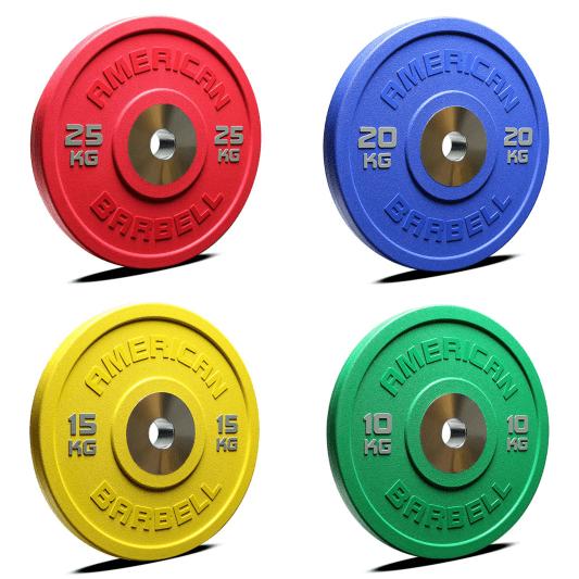 Coloured Barbell Set 9