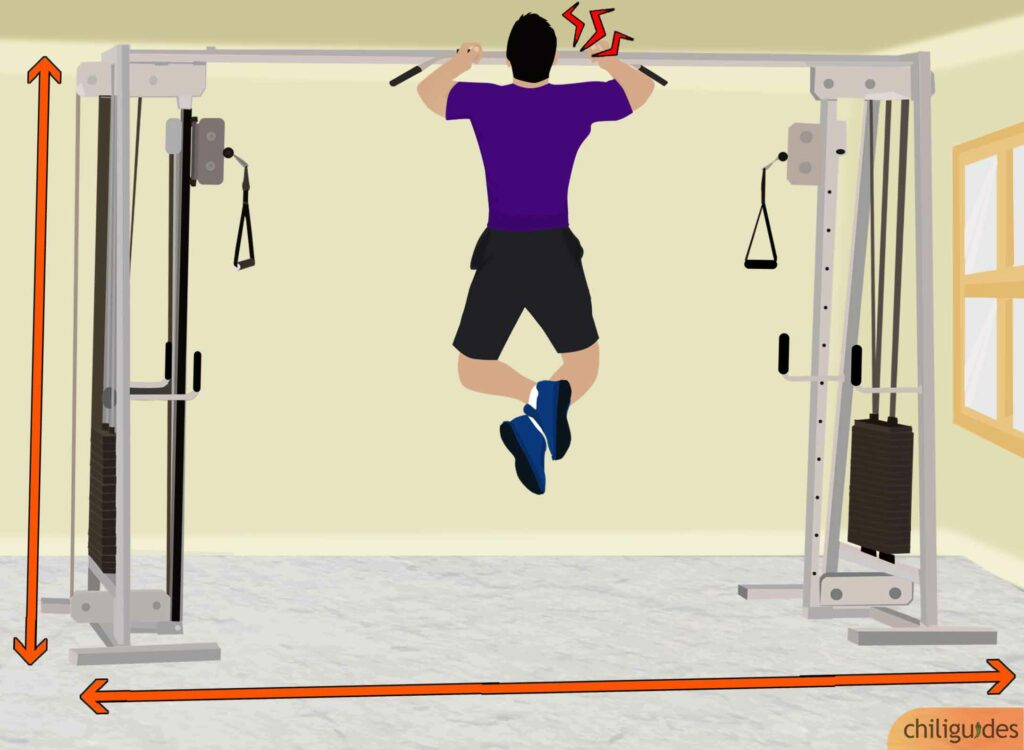 Smith Machine with Cable Crossover 19