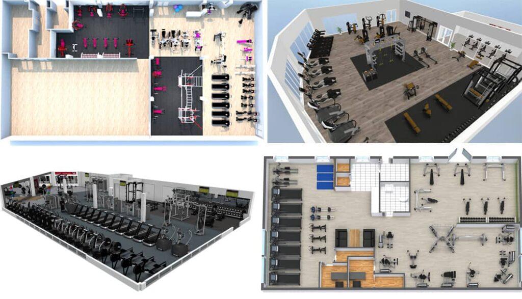 5 Station Gym Equipment 19