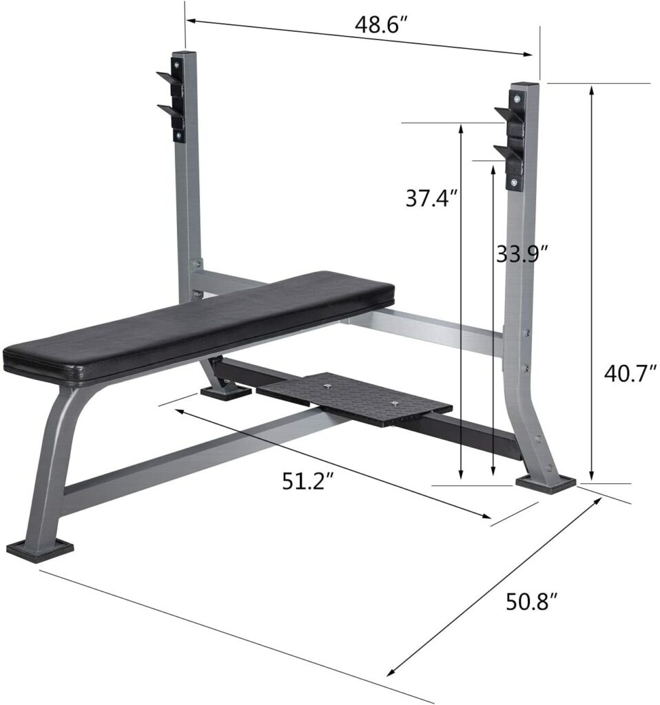 Commercial Olympic Weight Bench 14
